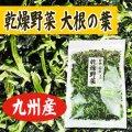 乾燥野菜 国産 九州産 大根葉 100g
