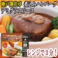 レトルト ハンバーグ 神戸開花亭 芳醇煮込みハンバーグ デミグラスソース 190g