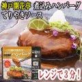 レトルト ハンバーグ 神戸開花亭 芳醇煮込みハンバーグ テリヤキソース 190g