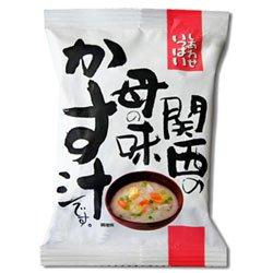画像2: フリーズドライ 無添加味噌汁 関西の母の味かす汁 10袋セット (コスモス食品)