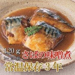 画像1: レトルト おかず 和食 惣菜 さばの味噌煮 120g(常温で3年保存可能)ロングライフシリーズ