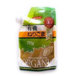 画像4: 有機ねりごま白 70g(有機JAS認定)白ごま オーガニック 胡麻 みたけ食品