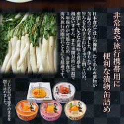 画像2: ごはんのおとも たくあん&漬物の缶詰め5種類10個お試しセット 道本食品 (送料無料)