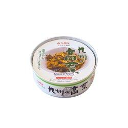 画像4: ごはんのおとも 九州の高菜 缶詰め70g 道本食品 旅行 海外土産にも