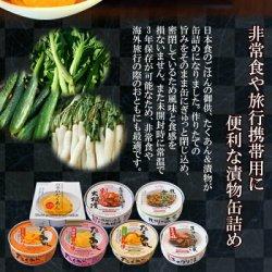 画像2: ごはんのおとも たくあん&漬物の缶詰め7種類14個お試しセット 道本食品 御歳暮 御年賀  (送料無料)