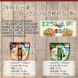画像2: 長期保存 サタケマジックライス 日本のご飯 5種10食セット (5年保存)