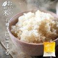 国産 無洗米 おいしいお米 有機にこまる 150g 一合分 お試し 一人暮らし ベストアメニティ